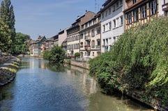 Strasburg jest miasteczkiem w Francja, Europejski zjednoczenie zdjęcia royalty free