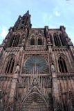 Strasburg, kathedraal Notre Dame Stock Afbeeldingen