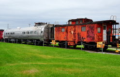 Strasburg, PA: Railroad Museum of Pennsylvania Stock Photography