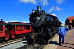 Strasburg, PA: St4am Engine at Strasburg Railroad Royalty Free Stock Photography