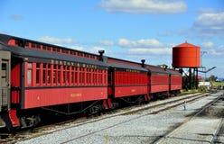 Strasburg, PA: Strasburg linii kolejowej samochody zdjęcie stock