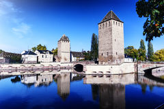 Strasburg przy pogodnym jesień dniem alsace France obrazy stock