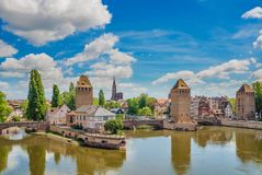 Strasburgo, l'Alsazia, Francia Fotografia Stock Libera da Diritti