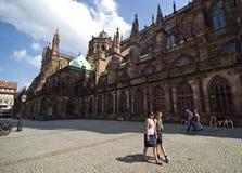 Strasburgo Notre Dame fotografia stock libera da diritti