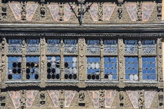 Strasburgo - palazzo antico Fotografia Stock Libera da Diritti