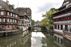 Strasburgo Petite France Immagini Stock