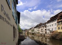 Strasburgo Petite France Fotografia Stock