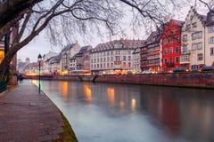 strasburgo Quay St Thomas Immagini Stock Libere da Diritti