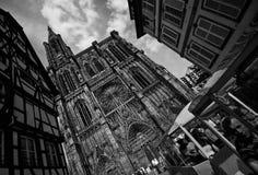 Strasburska katedra fotografia stock
