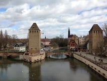 Strasburska rzeka Fotografia Stock