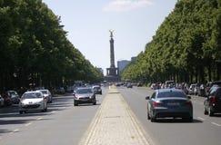 Strasse des 17 Juni Βερολίνο Στοκ Φωτογραφίες