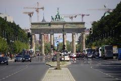 Strasse des 17 Juni Berlin Royalty-vrije Stock Afbeeldingen