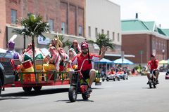 The Strassenfest Parade 2018 stock image