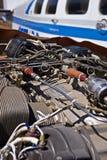 Strassenverkäufer Beechcraft Baron 58 Lizenzfreies Stockfoto