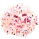 Strasses cristalinos Fotos de archivo libres de regalías
