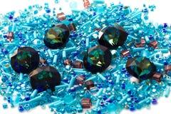 Strasses cristalinos Imágenes de archivo libres de regalías