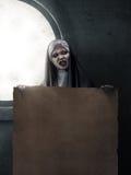 Straszna czarcia magdalenka Fotografia Royalty Free