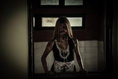 Straszna gosposia ducha opowieść nawiedzający dom Zdjęcie Stock