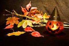 straszna Halloween bania Zdjęcia Royalty Free