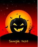 straszna Halloween tapeta Obraz Royalty Free