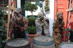 Straszna Halloweenowa dekoracja Zdjęcie Stock