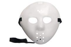 Straszna Halloweenowa hokej maska zdjęcie stock