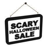 Straszna Halloweenowa sprzedaż Obrazy Royalty Free