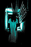 straszna horror scena Fotografia Royalty Free