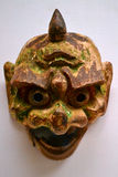 Straszna i groteskowa maska zdjęcia stock