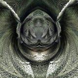straszna insekt głowa ilustracji