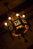 Straszna lampa Zdjęcia Stock