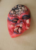 Straszna maska dla Halloween przyjęcia Obrazy Royalty Free