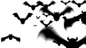 Straszna nietoperz animacja dla Halloween zdjęcie wideo