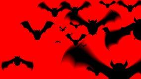 Straszna nietoperz animacja dla Halloween zbiory