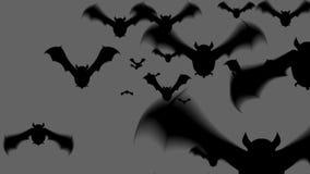 Straszna nietoperz animacja dla Halloween zbiory wideo