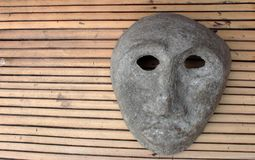 Straszna przerażająca maska zdjęcia royalty free