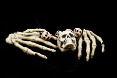 straszne czaszki Obrazy Royalty Free