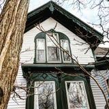 straszny dom Zdjęcie Stock