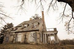 Straszny dom Obraz Royalty Free