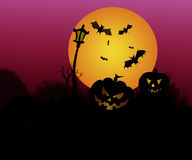 Straszny Halloween 6 Fotografia Royalty Free