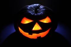 straszny Halloween lampion Zdjęcia Royalty Free