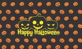 Straszny Halloween przyjęcia tło Zdjęcia Stock