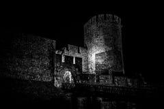 Straszny Kalemegdan forteca belgrad Serbii Obrazy Royalty Free
