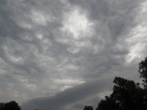 Straszny niebo Obraz Royalty Free
