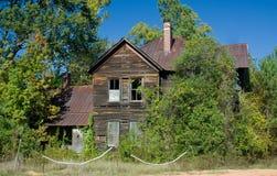 straszny stary dom Zdjęcia Royalty Free