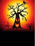 straszny tree2 Fotografia Stock