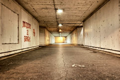 Straszny tunel Zdjęcie Royalty Free