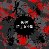 Straszny zaproszenie dla Halloween przyjęcia Obrazy Stock