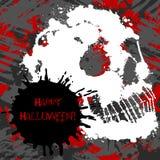 Straszny zaproszenie dla Halloween przyjęcia Fotografia Stock