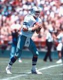 Stratège de cowboys de Troy Aikman Dallas image stock